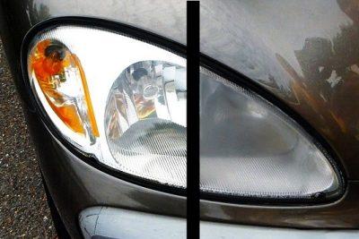 Cách làm mới đèn pha ô tô bị mờ ố theo thời gian