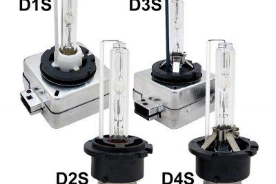 Các loại chân bóng đèn Xenon D1S, D2S, D3S, D4S, D1R, D2R, D3R, D4R, D1C, D2C, D3C, D4C