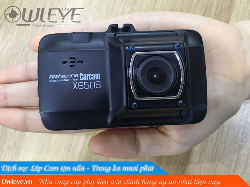 Review Carcam X650s Chiec Camera Hanh Trinh Gia Re Chat Luong Cao 3