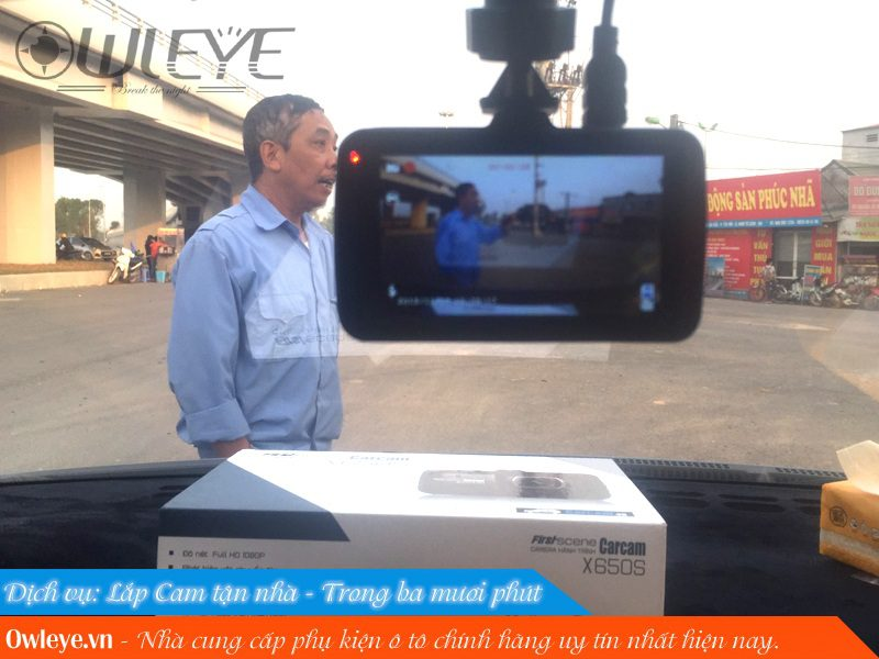 Review Carcam X650s Chiec Camera Hanh Trinh Gia Re Chat Luong Cao 4