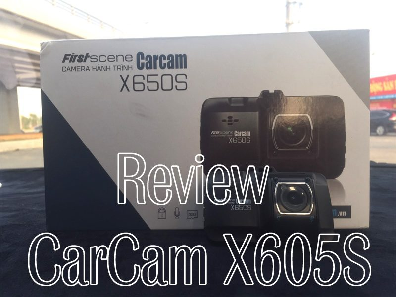 Review Carcam X650s Chiec Camera Hanh Trinh Gia Re Chat Luong Cao