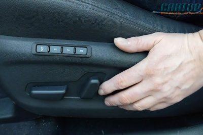 Hướng dẫn cài đặt nhớ ghế trên xe ô tô.