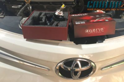 Giải pháp độ đèn led cho Vios G, lắp đặt nguyên bản, tăng sáng đèn pha ô tô hiệu quả.